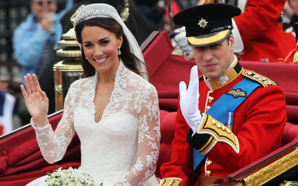 kate middleton & prince william wedding