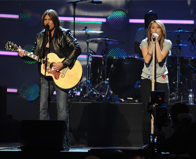 Billy Ray with Miley Cyrus